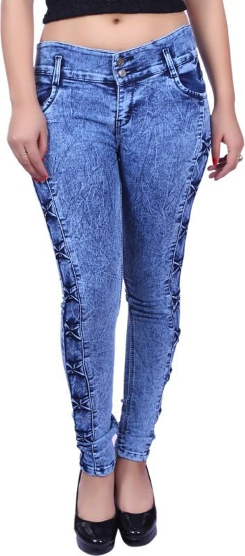 NEON-9 Slim Girls Blue Jeans