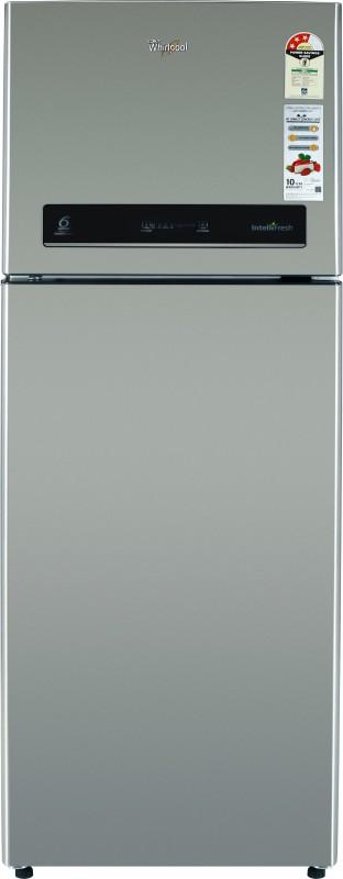 Whirlpool 340 L Frost Free Double Door 3 Star Refrigerator(Magnum Steel, IF INV 355 ELT MAGNUM STEEL (3S))