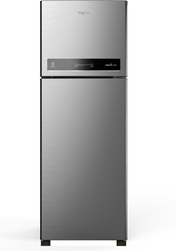 Whirlpool 340 L Frost Free Double Door 4 Star Refrigerator(Magnum Steel, IF INV 355 ELT MAGNUM STEEL (4S))