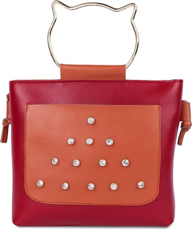 Faijan Fashions Red Sling Bag