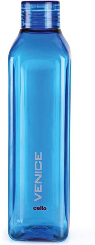 Cello Venice Plastic Water Bottle, 1 Litre, Set of 1, blue 1000 ml Bottle(Pack of 1, Blue)
