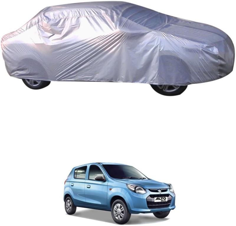 RONISH Car Cover For Maruti Suzuki Alto 800 (With Mirror Pockets)(Silver)