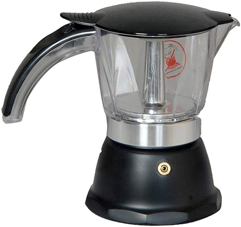3dcreations CMBlack_01 3 Cups Coffee Maker(Multicolor)