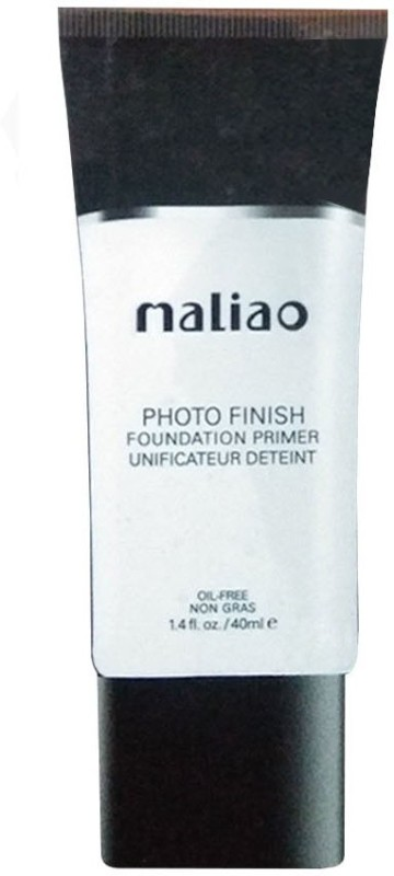 maliao Photo Finish Foundation Oil Free Non Gras Primer - 40 ml Foundation(White, 40 ml)