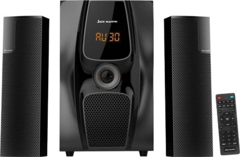 Jack Martin Z-5 100 W Bluetooth Home Theatre(Black, 2.1 Channel)