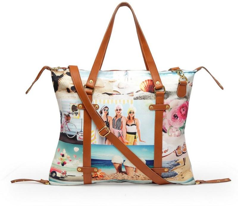 Band Box Multicolor Shoulder Bag