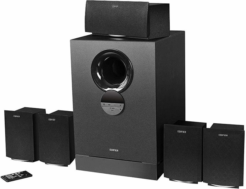 Edifier R501 BT 93 W Bluetooth Home Theatre(Black, 5.1 Channel)