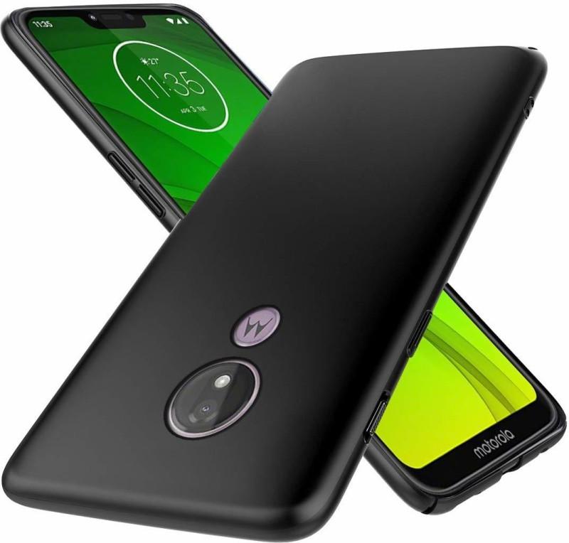 RF Mobiles Back Cover for Motorola Moto G7 Power, Moto G7 Power(BLACK Matte Finish Soft CANDY Back Cover, Shock Proof)