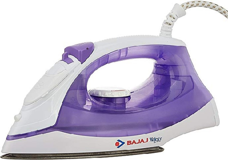 Bajaj Majesty MX 3 1250-Watt Steam Iron 1250 W Dry Iron(Multicolor)