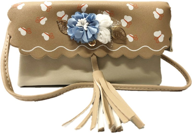 HIGH-CHOICE Beige Sling Bag