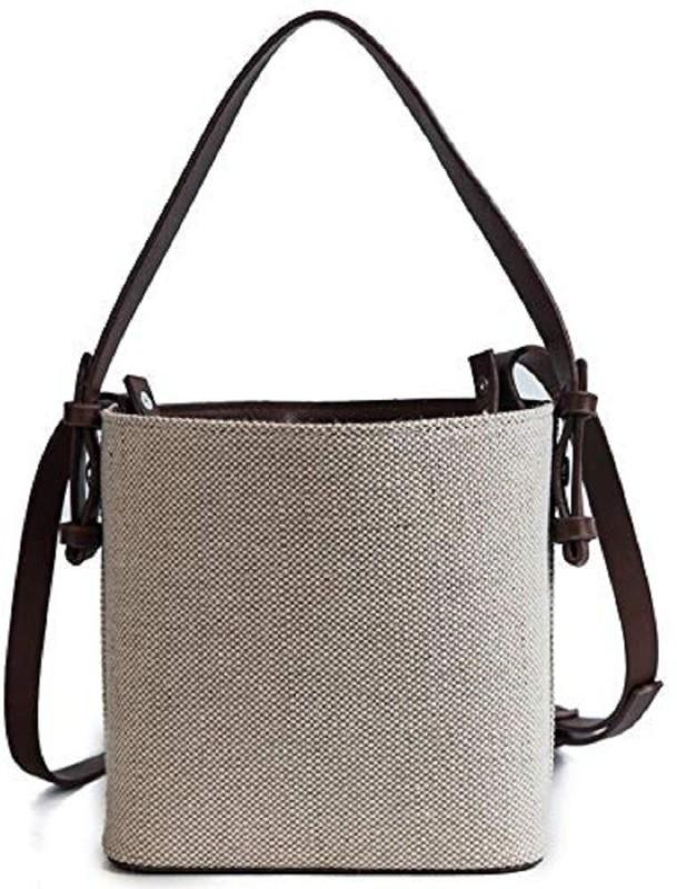 Mei&Ge Khaki, Black Sling Bag