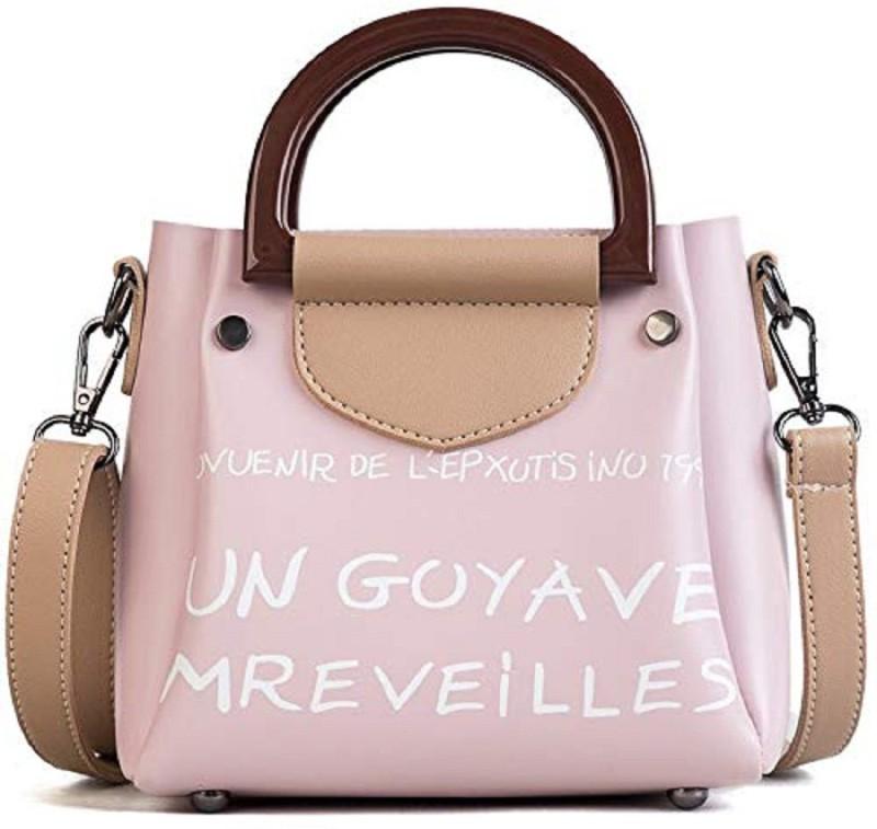 Mei&ge Pink, Beige Sling Bag