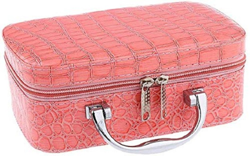 Antique Buyer vanity box Vanity Boxes, Women Travel Pouch Vanity Box(Pink)