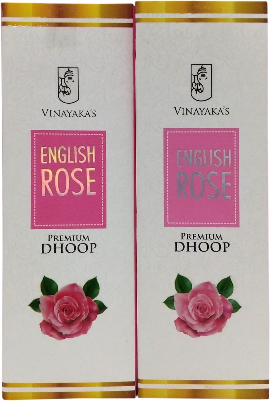 Vinayaka's Premium English Rose Dhoop Cone