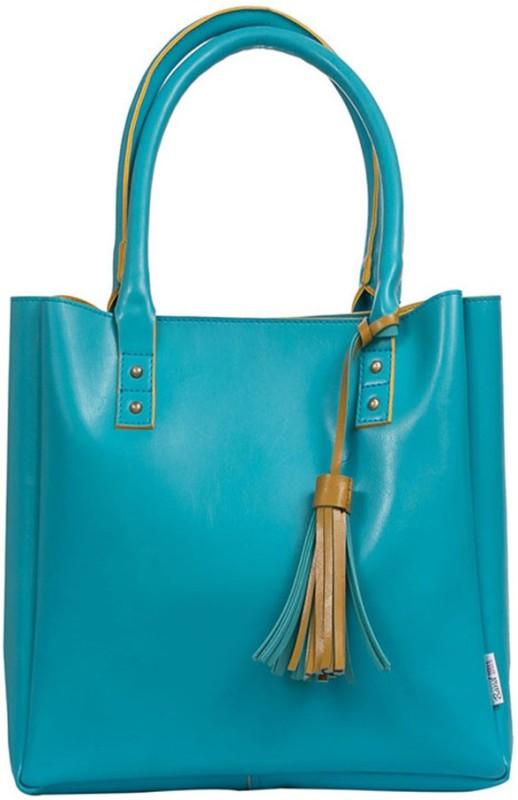 Band Box Women Blue Hand-held Bag