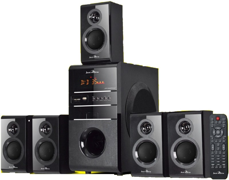 Jack Martin JM 3000 170 W Bluetooth Home Theatre(Black, 5.1 Channel)