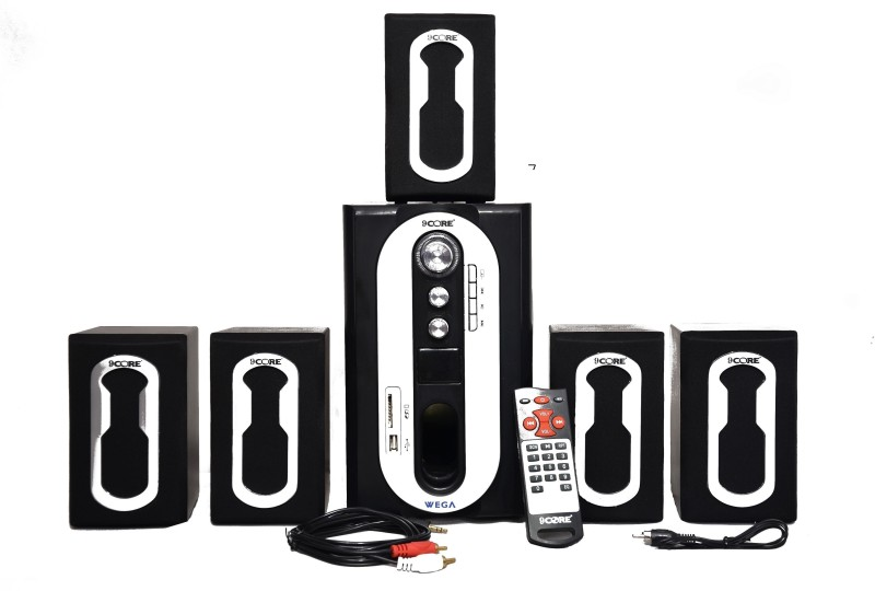 9 CORE WEGA HT-OO1 DJ SOUND 5.1 Home Cinema(BLUETOOTH,AUX,USB,FM,MMC CARD)