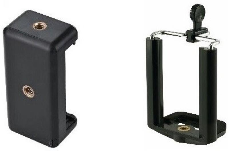 BB4 SET OF 2 Camera Stand Clip Bracket MOBILE Holder Monopod / Mount Adapter Laboratory Tripod Stand