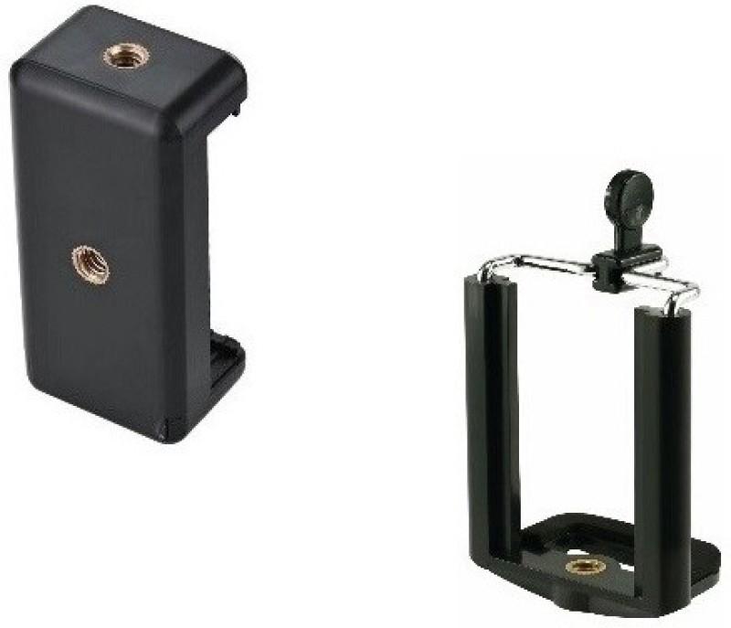 Freya PACK OF 2 Camera Stand Clip Bracket MOBILE Holder Monopod / Mount Adapter Laboratory Tripod Stand