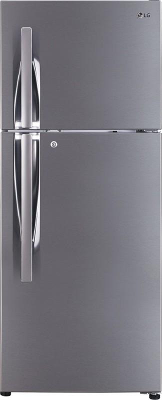 LG 260 L Frost Free Double Door 3 Star (2020) Refrigerator(Shiny Steel, GL-I292RPZL)