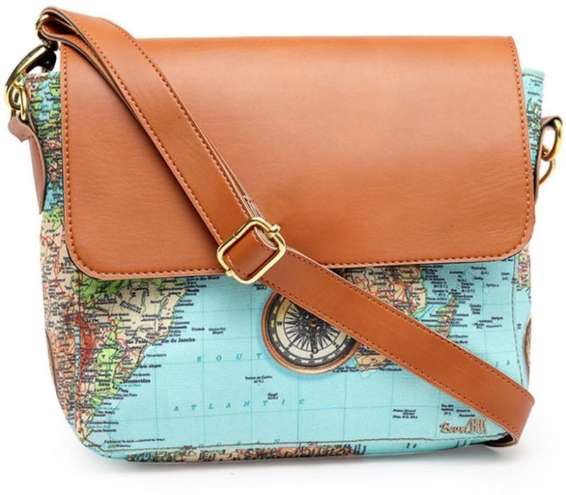 Band Box Green Sling Bag