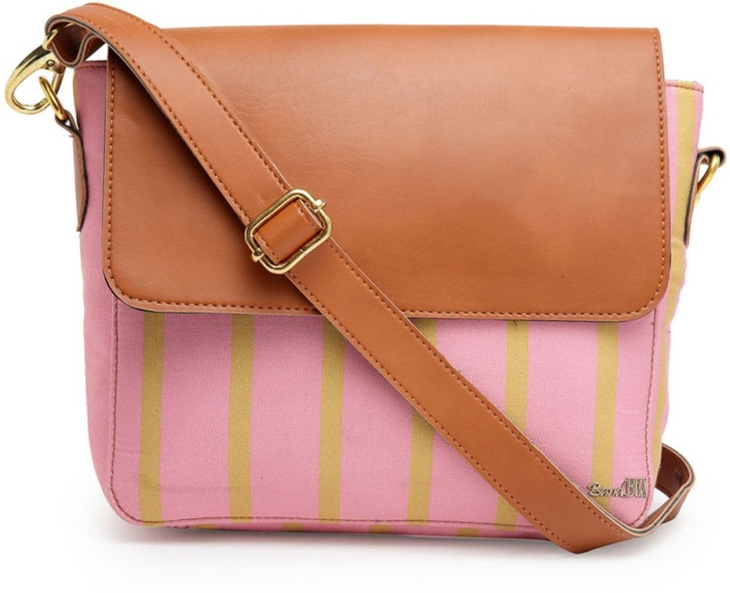 Band Box Pink Sling Bag