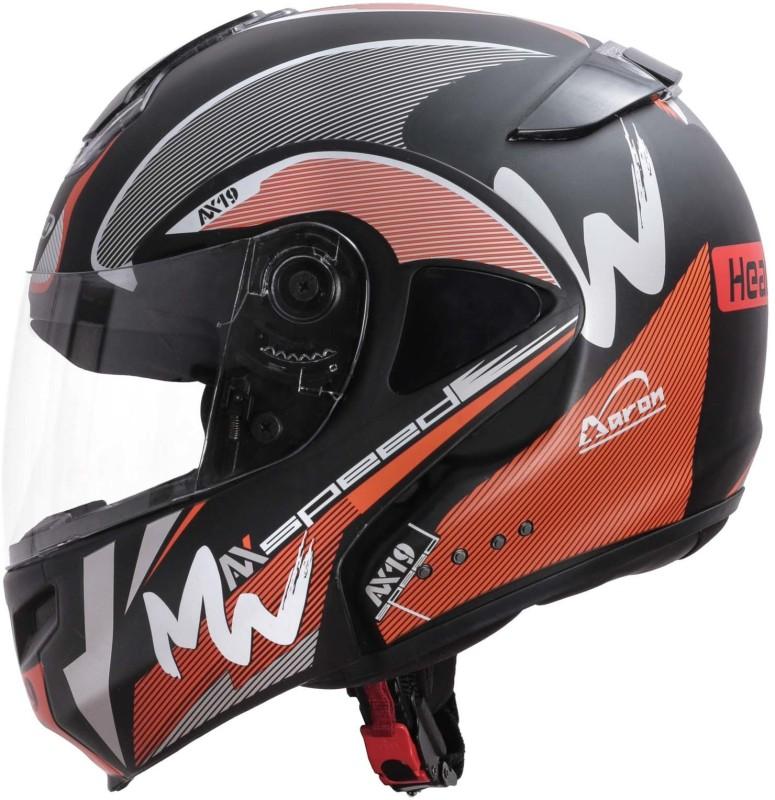 HEADFOX Smart Bluetooth Motorbike Helmet(Orange)