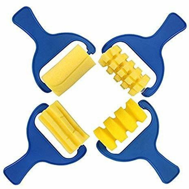 Zahuu PSAH-1393 Painting Sponge Roller(Pack of 4)