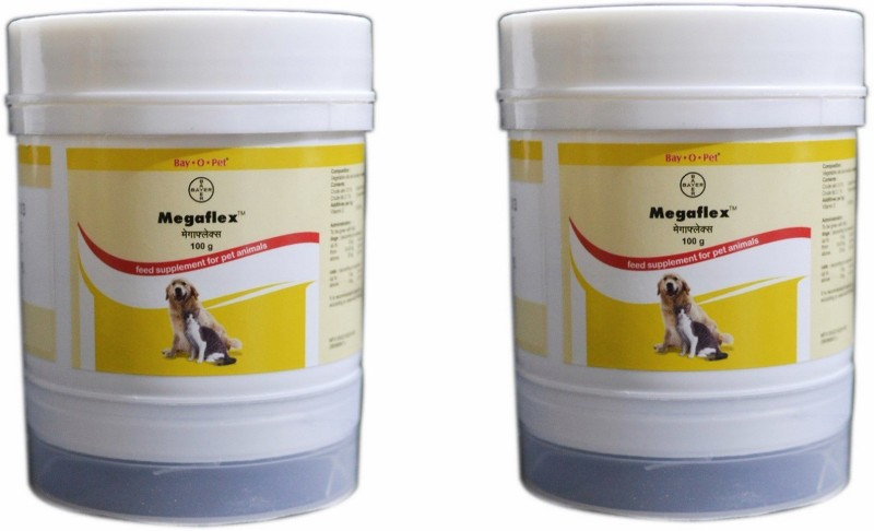 Bayer MEGAFLEX 100GM PACK OF 2 Pet Health Supplements(100 g)