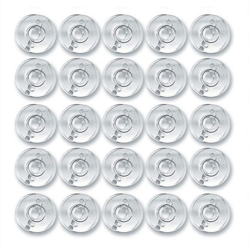 Zenith 50 bobbins plastic Plastic Bobbins(Pack of 50, Domestic)
