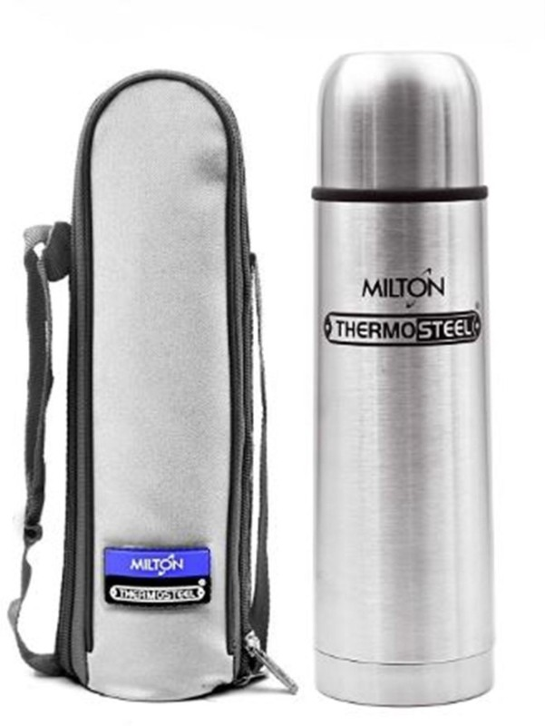 Milton Thermosteel 24 Hour Cold & hot 750 ml Flask(Pack of 1, Steel/Chrome)