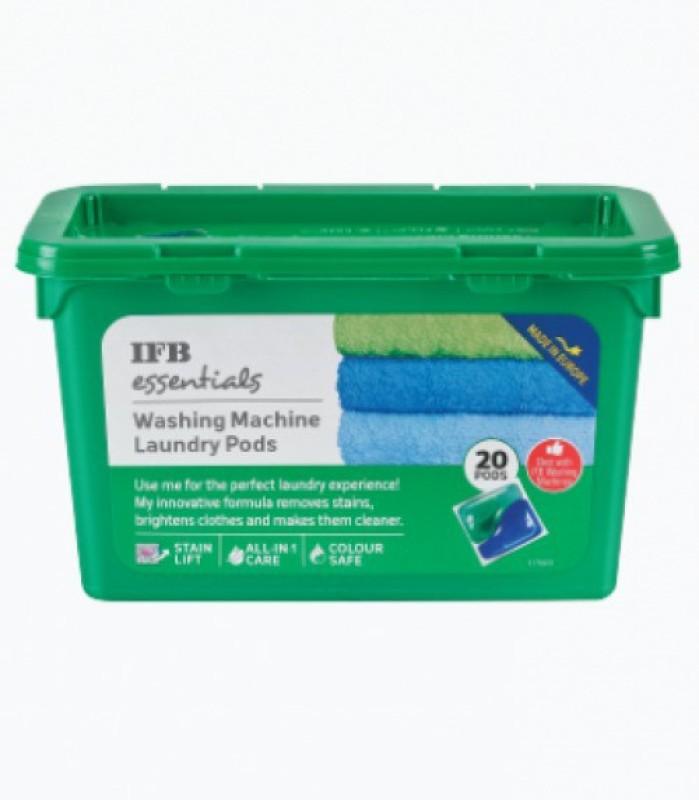 IFB WASHING MACHINE LAUNDRY Pods Lemon Detergent Pod(20 Pods)