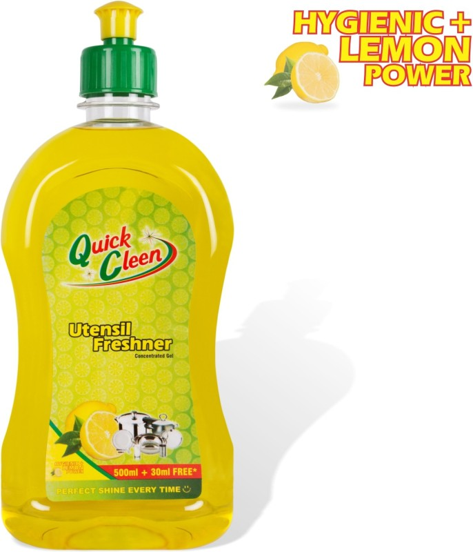 Quick Cleen DISH WASH GEL Dish Cleaning Gel(Lime, 2 x  400 ml)