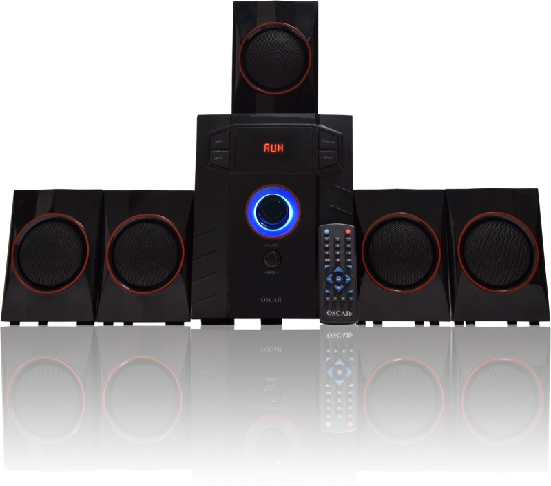 Oscar 5141BT Digital Bluetooth Home Theater System Bluetooth Home Theatre(Black, 5.1 Channel)