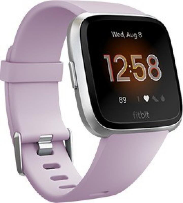 Fitbit Versa **** Edition Smartwatch(Purple Strap Regular)