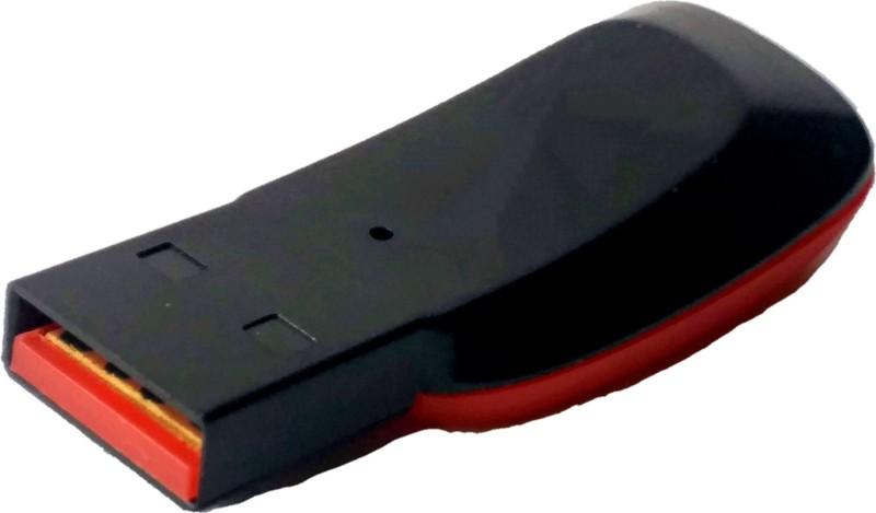 BLUE MARK Reader Micro SD Memory Card USB 2.0 Card Reader(Multicolor)