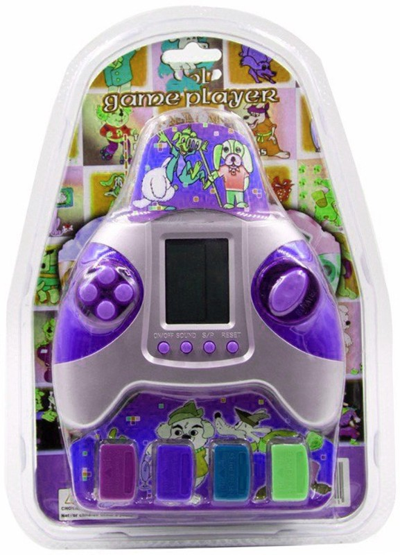 Alafi Traditional video game with all total brick games for increasing hand-eye,brain ALL IN ONE a9 with 4 CHIP BRICK GAMES(Game will not work until inserting chip) NA GB with GAME, BATTERY, 4 CHIP(Multicolor)