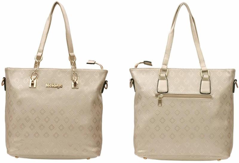 Mei&Ge Women Gold Shoulder Bag