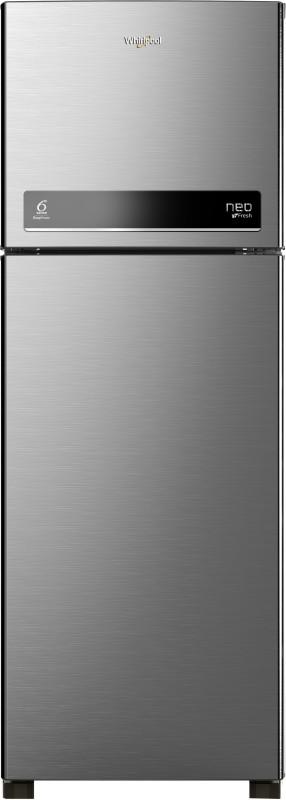 Whirlpool 292 L Frost Free Double Door 3 Star Refrigerator(Magnum Steel, neo DF305 PRM magnum steel(3s))