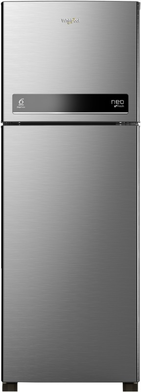 Whirlpool 265 L Frost Free Double Door 3 Star Refrigerator(Magnum Steel, NEO DF278 PRM 3S)