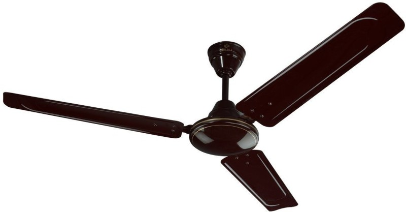 Bajaj EDGE 1200 mm Brown CF 1200 mm 3 Blade Ceiling Fan(Brown, Pack of 1)