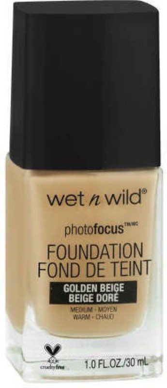 Wet n Wild Photo Focus Foundation - Foundation(Golden Beige, 30 ml)