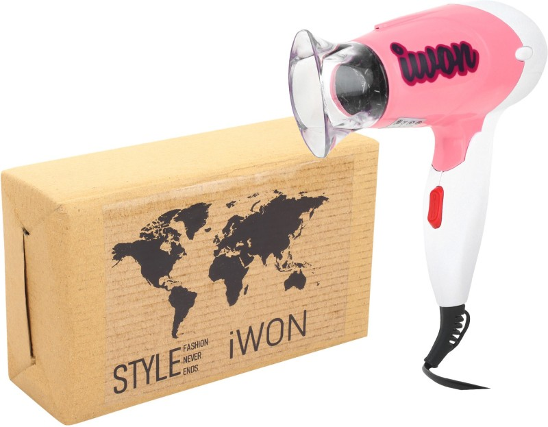 iwon HD299 HD299 Hair Dryer(200 W, Blue, Pink)