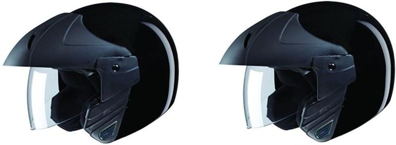 Studds Motocross Plain SUS_MVPFFH_MBLKXL Motorbike Helmet(Black)
