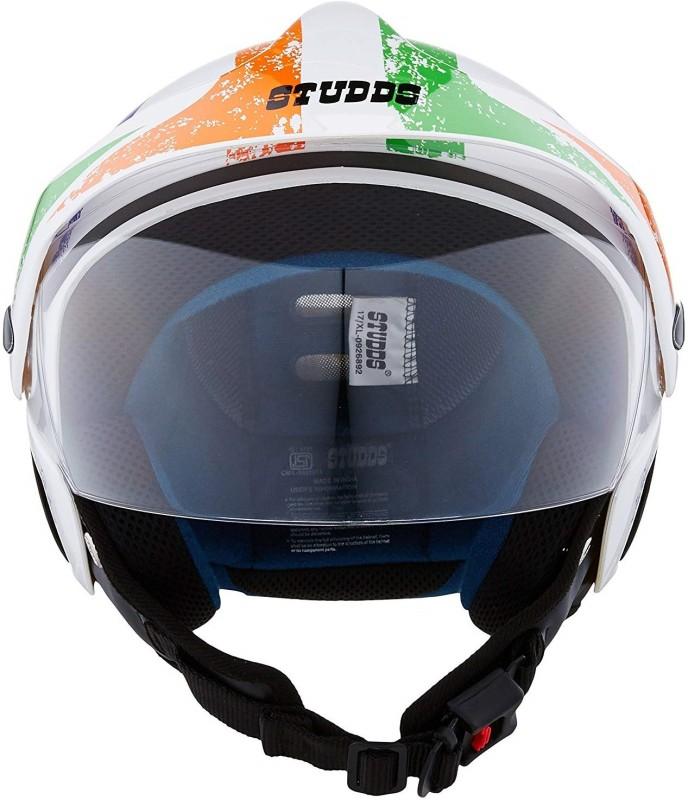 Studds Marshall D5 Motorbike Helmet(Black)