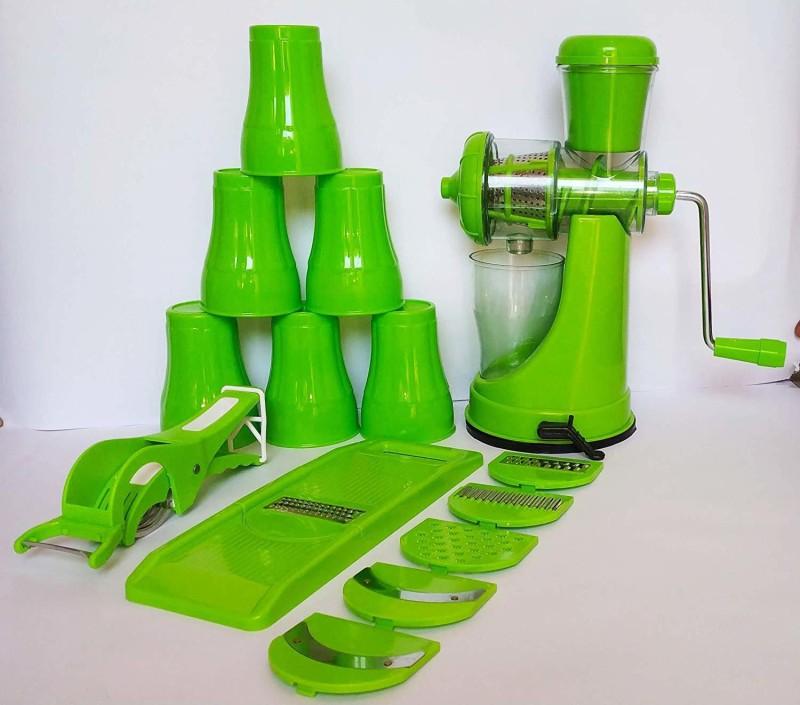 DAWAN 111 Hand Juicer Green Big Combo Green Green Kitchen Tool Set(Green)