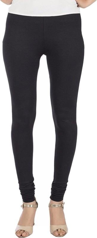 Priya Churidar Length Legging(Black, Solid)