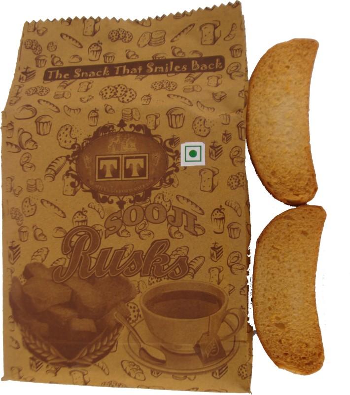 TT Handmade SOOJI RUSK Cookies (PACK OF 8) NA flavored Sooji Rusk(8 x 275 g)