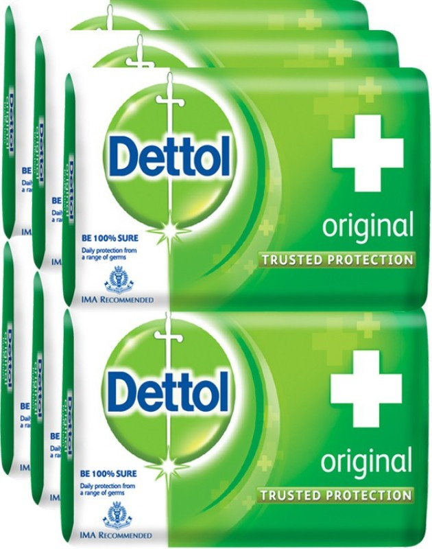 Dettol Original Soap(750 g, Pack of 6)
