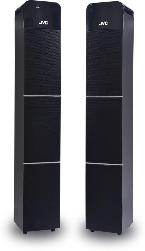 JVC DKN100 60 W Bluetooth Tower Speaker(Black, 2.0 Channel)